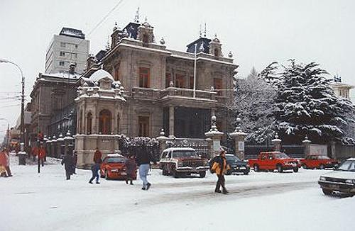Punta Arenas en invierno.