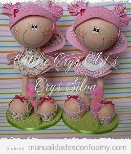 foam doll free pattern / muñeca fofucha goma eva hada