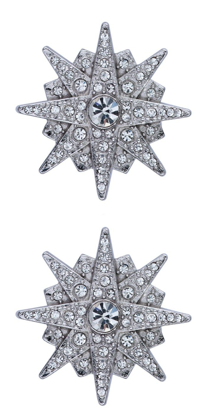 While the more unusual cuts of diamonds have been gathering momentum - Jubilee Jones Is Bringing Back The Dress Clip