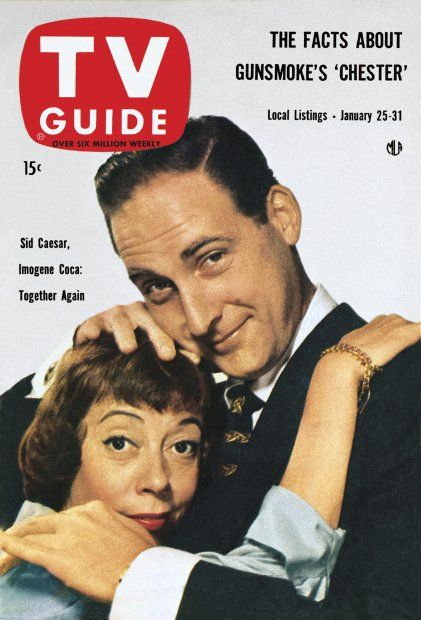Image result for sid caesar on the cover of tv guide