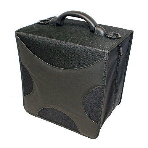 DVD Storage Binder CD Blueray 520 Disc Capacity Case Black Fabric Book Sleeves #LINKYO