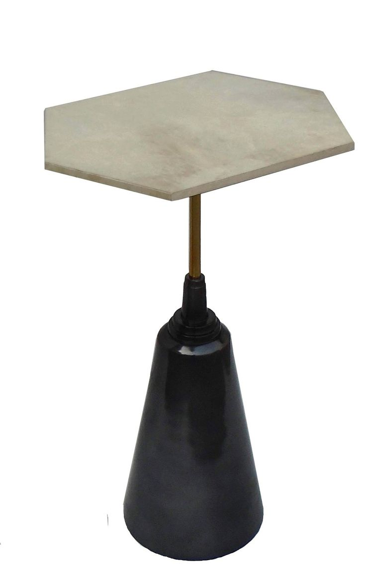 Small Drink Table Part - 35: Garcia Small End Drink Table Octavia Vellum Top