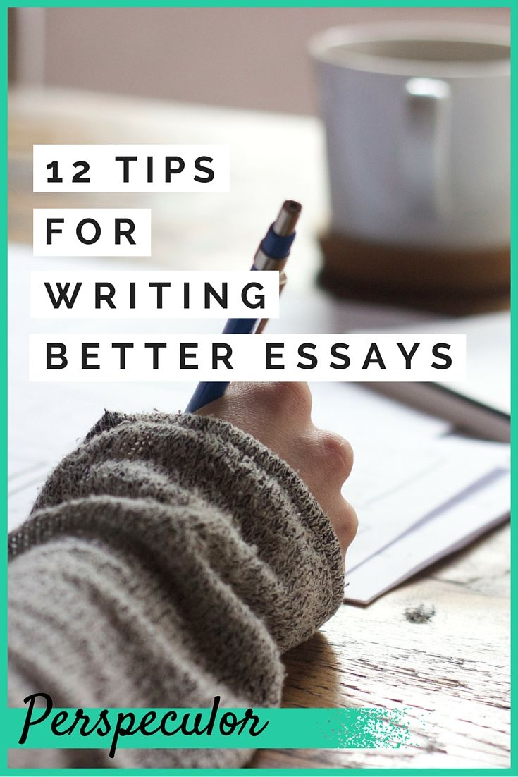 How to get good at writing essays