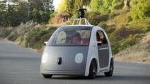 Google unveils a (cute) driverless car
