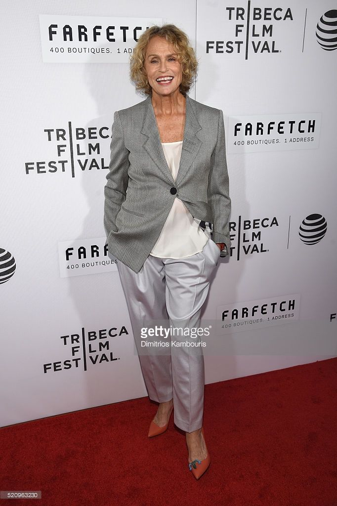 Lauren Hutton attends the 'First Monday In May' world premiere during the 2016 Tribeca Film Festival opening night at BMCC John Zuccotti Theater on April 13, 2016 in New York City.
