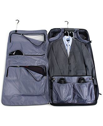 """Delsey Garment Bag, 45"""" Helium Deluxe - Delsey - luggage - Macy's"""