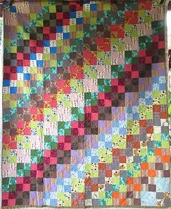 Vibrant MID Century Atomic Patchwork Block Antique Vintage Quilt Perfect | eBay, missypenelope