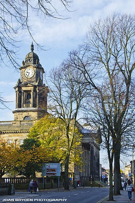 Lancaster Town Hall, Lancashire.....always got postcards of Town Hall from relatives who lived there...it became a family joke!