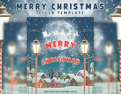 Best Christmas Flyer Images On   Christmas Flyer