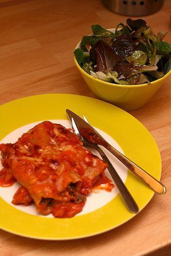 Katrin's Blog » Cannelloni mit Hackfleisch