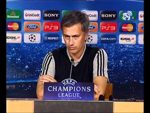 Sergio Ramos Real Madrid C.F. 4-0 Olympique Lyonnais: Rueda de prensa de Mourinho