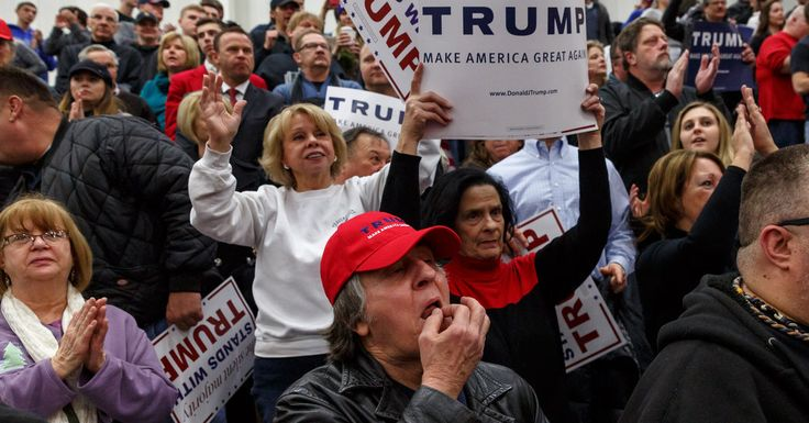 Rank and File Tell Party Elites: We're Sticking With Trump...