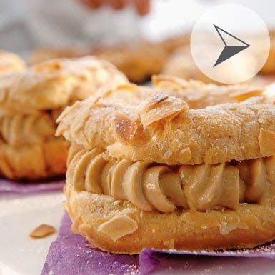 recette DEMARLE le Paris Brest avec cette crème pralinée un D E L I C E