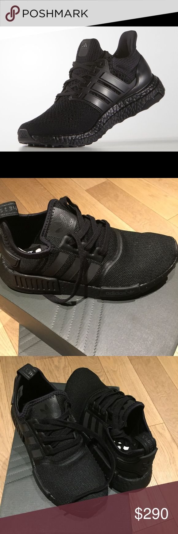 Adidas NMD R1 triple black boost shoes Men's size 6 shoe, which works best  for