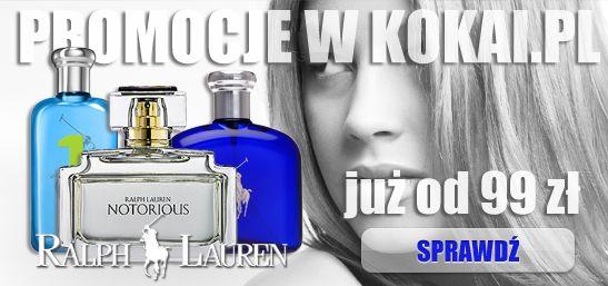 Ralph Lauren : Notorious, Polo, Big Pony... - pomysł na prezent. http://www.kokai.pl/ralph11