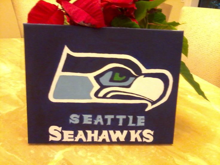 Seattle Seahawks canvas