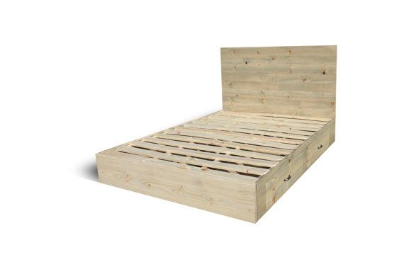 Best 25 Bed Frame With Drawers Ideas On Pinterest
