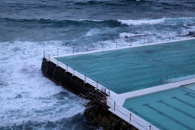 Bondi Beach, NSW- Australia. LOVED and miss this wave pool.