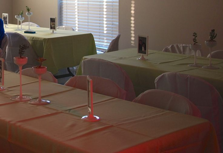 Table decor for Family reunion