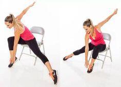 Un trabajo de 9 a 5 no tiene que significar sacrificar el fitness. Aquí están algunos ejercicios de silla para tener un cuerpo lleno de energía y que pueden ayudarte a controlar tu peso sin tener que ir al gimnasio. 1. Abdominales en silla Sentado en la orilla de la silla y con la espalda …