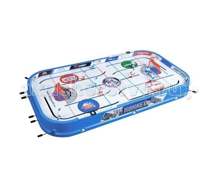 Step Puzzle Настольная игра Хоккей  Step Puzzle Настольная игра Хоккей - это захватывающий настольный хоккей разработанный в России для отличного времяпровождения. Отличительная сторона это интересное моделирование и необычная техника. В особенности криволинейные траектории движения игроков и вероятность левому нападающему заезд за ворота противника придают игре еще больше реальности. Игроки управляются с помощью стержней с резиновыми ручками. Счет ведется на механизированном табло…