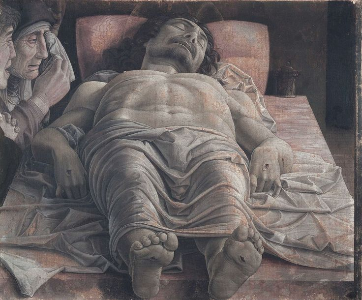 Lamentation of Christ (Mantegna) - Wikipedia
