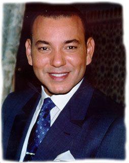Le roi actuel Mohamed VI