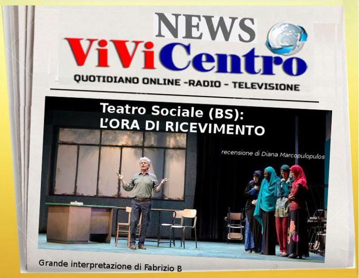 Teatro Sociale (BS), L'ORA DI RICEVIMENTO con Fabrizio Bentivoglio (Diana Marcopulopulos)