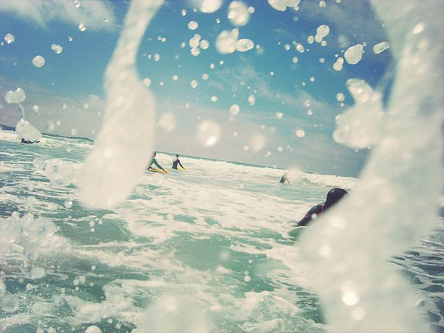 Surf - Watergate bay, Newquay, Cornwall by ROJO-DC on flickr