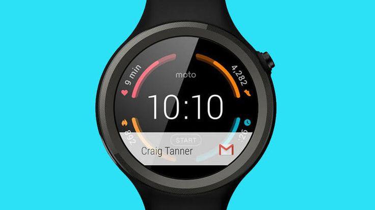 Relógio Moto 360 Sport tem Android e monitora sua corrida | +MMS
