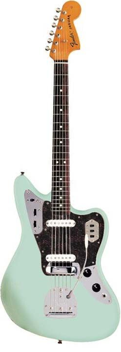 Fender American Vintage '62 Jaguar in Surf Green — sigh — wishlist!