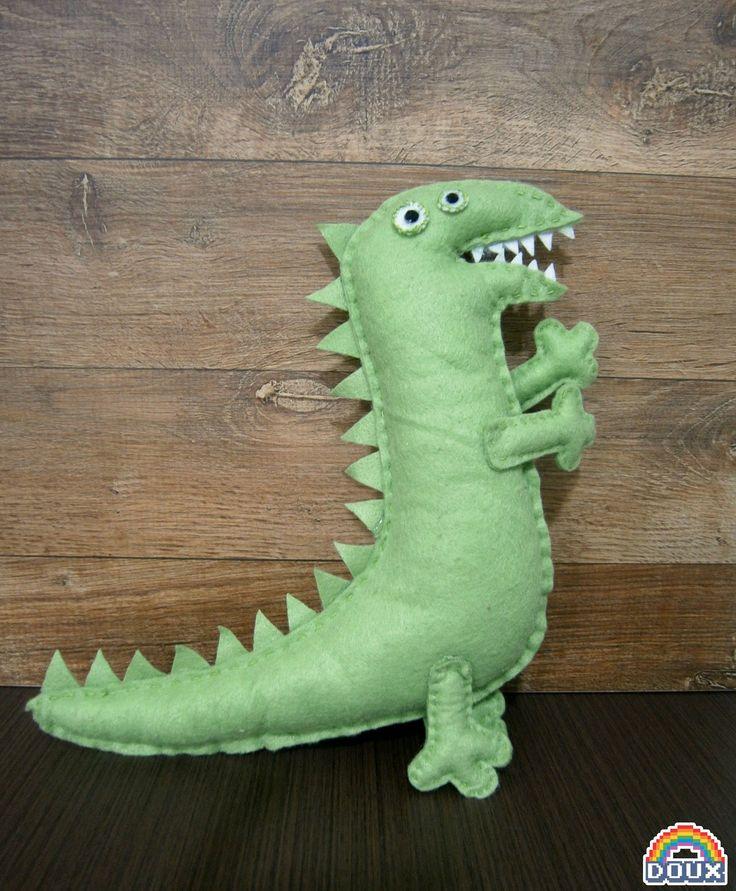 #03 Felt Dinosaur (Peppa Pig) by DouxDoumori.deviantart.com on @DeviantArt