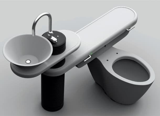 Las 25 mejores ideas sobre tanque de agua en pinterest - Inodoro y lavabo en uno ...