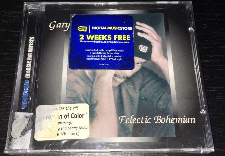 Eclectic Bohemian by Gary Taylor CD 2004 Thump Records New | eBay