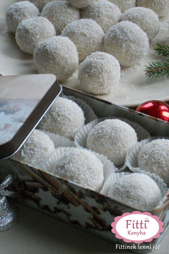 Mennyei kókuszgolyó mandulával - A finom és egészséges ajándék - G-Életstílus - GLAMOUR Online