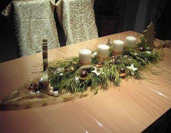 schnelles adventsgesteck weihnachten advent. Black Bedroom Furniture Sets. Home Design Ideas