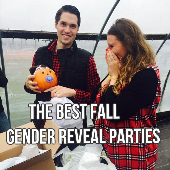The BEST Fall Gender Reveal Party Ideas. Celebrate the little PUMPKIN that is soon to be the APPLE of your eye with one of these super fun, UNIQUE ideas