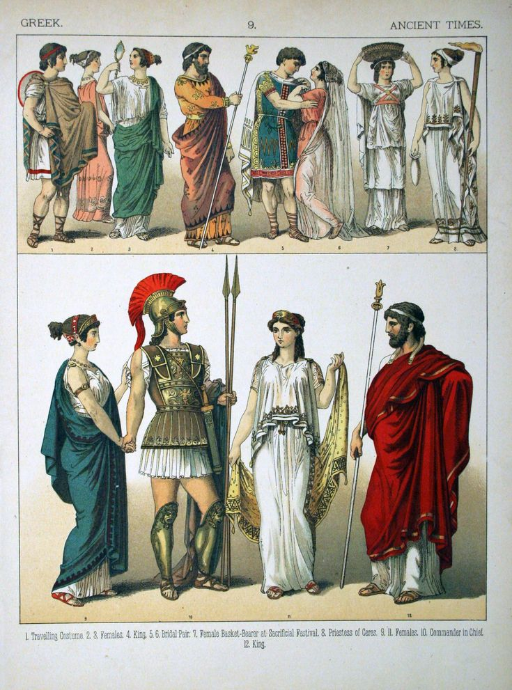 a study of the traditional greek dress