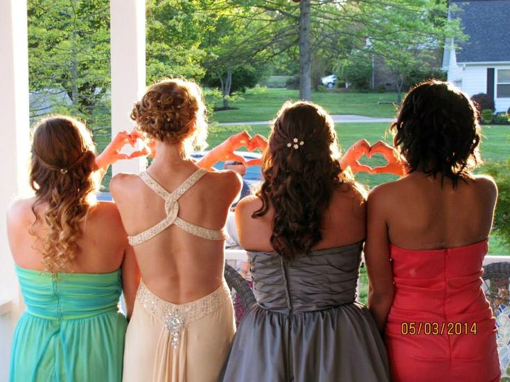 Cute idea for prom pictures!