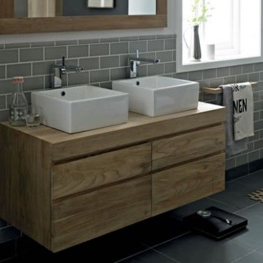 Oslo Bathroom Furniture from Fired earth £1,850 just for unit!