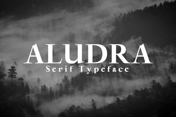 Aludra Serif Typeface font @creativework247