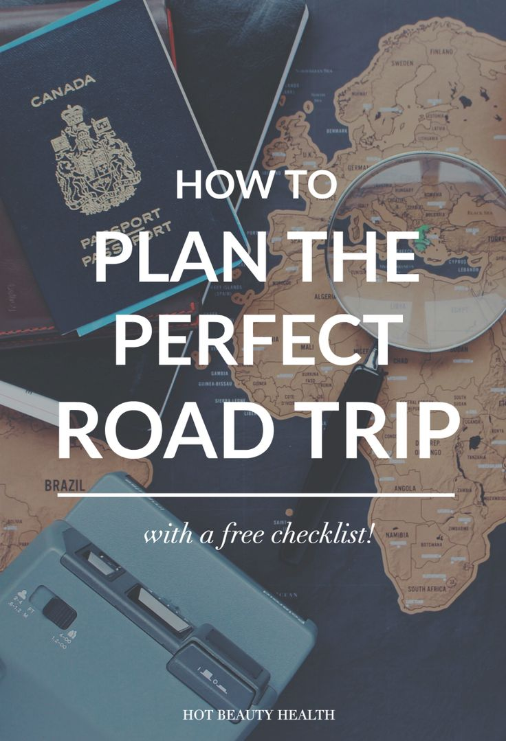 Free road trip planning checklist printable! Are you planning a family vacation or going on the road with friends? Here are 18 things you need to do before your next road trip.