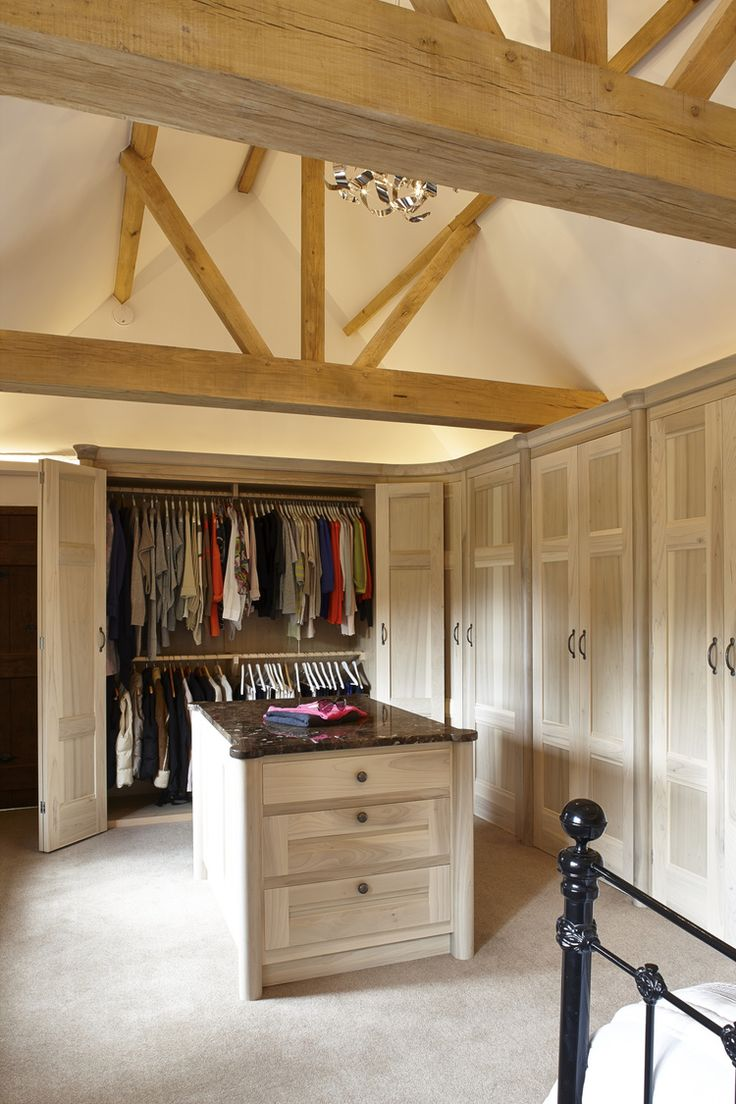 Opening up the bedroom and dressing areas, which were originally two  separate rooms, developed