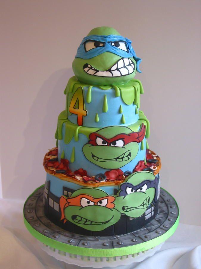 Tmnt Birthday Cake Pan