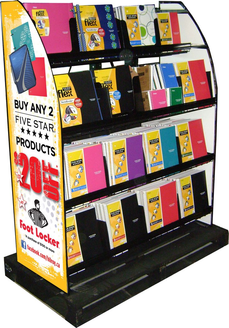 Acco Brands Five Star Contest Display 2.0