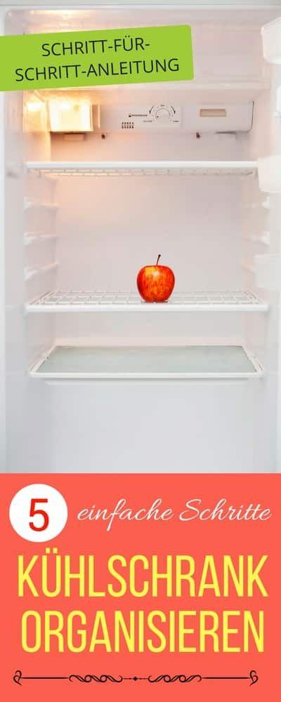 Kühlschrank organisieren in 5 Schritten   Haushaltsfee.org