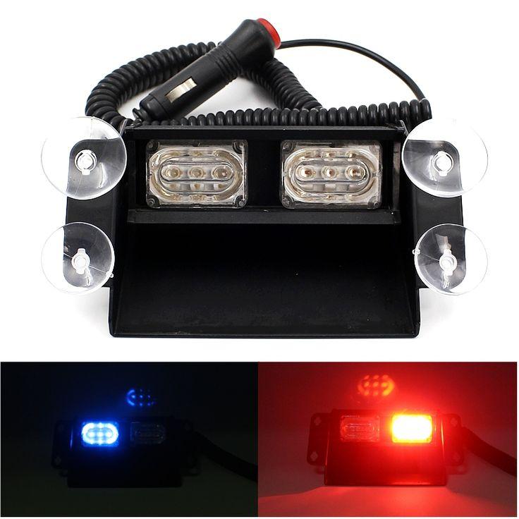 $26.30 (Buy here: https://alitems.com/g/1e8d114494ebda23ff8b16525dc3e8/?i=5&ulp=https%3A%2F%2Fwww.aliexpress.com%2Fitem%2FSuper-Bright-6-LED-Strobe-Flash-Warning-Lights-Car-Styling-6W-Red-Blue-Fireman-Police-Beacon%2F32690407314.html ) Super Bright 6 LED Strobe Flash Warning Lights Car Styling 6W Red Blue Fireman Police Beacon Emergency Lamp With Multiple Modes for just $26.30