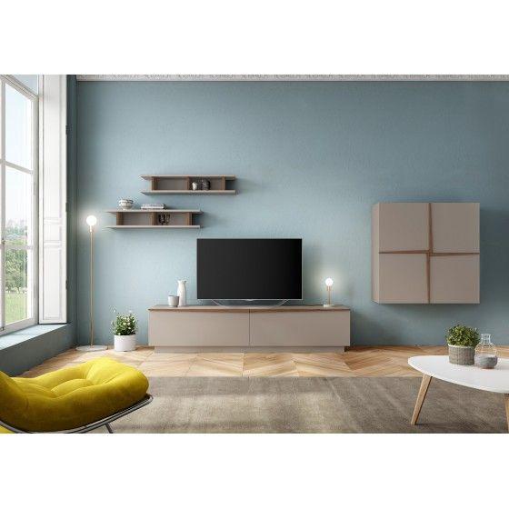 meuble tv design mural vivelda atylia - Meuble Tv Living