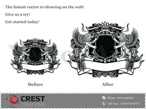 We specialize in converting your source raster (bitmap/photograph) to professional vector files. The process is simple. You scan the image (JPG, JPEG, raster, bitmap etc.) and send it to us. Our specialized professionals convert the received JPEG image to a high quality vector file and return it back to you.
