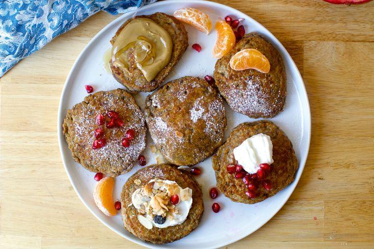 banana oat weekday pancakes  | smittenkitchen.com